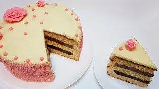 "ТОРТ ТРИ ШОКОЛАДА  ( "" three chocolate "" cake )"