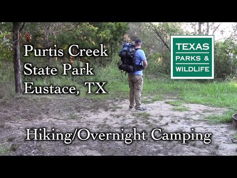 Overnight Camping at Purtis Creek State Park