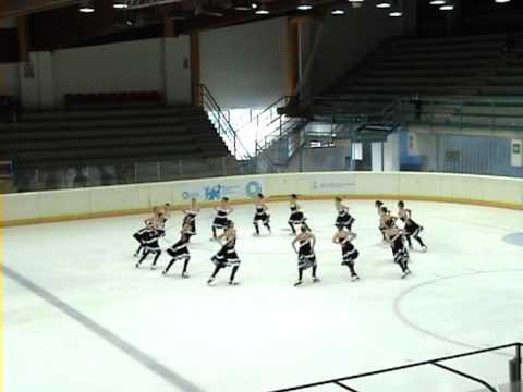 Tutti In Pista 2009 - Hot Shivers Senior - Precision Skating Milano - Mamma Mia