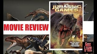 THE JURASSIC GAMES ( 2018 Perrey Reeves ) Dinosaur Sci-Fi Movie Review
