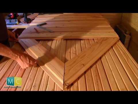 Faire soi-même une porte bois ancienne