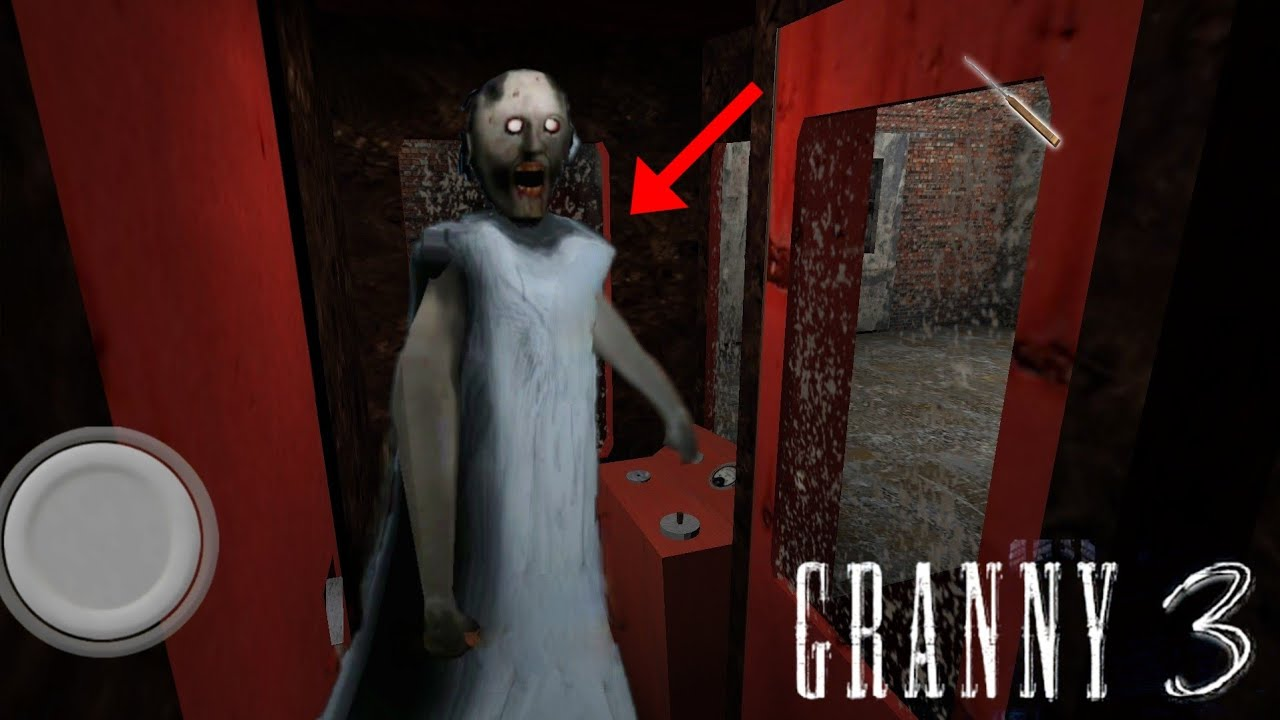 Granny Escapes with Train|| Granny 3 New Train Escape