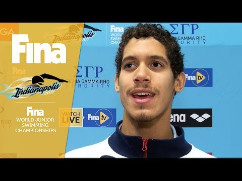 "Hugo Gonzalez: ""I'm really motivated"" | FINA World Junior Swimming Championships"