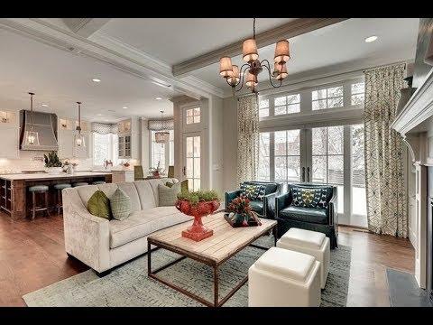 АМЕРИКАНСКИЙ стиль в интерьере. Сочетание мебели, освещения, аксессуаров