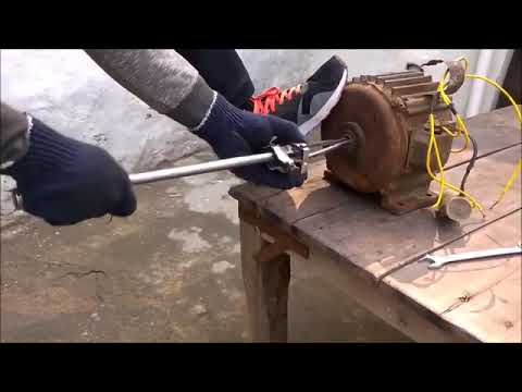 How to make bearing pushing tool home made