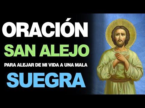 🙏 Oración Poderosa a San Alejo para ALEJAR A UNA MALA SUEGRA ¡Auxíliame! 😖