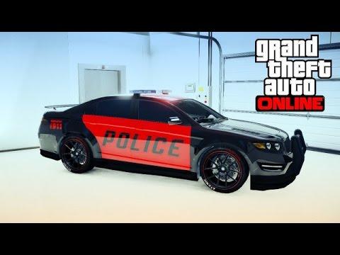 avoir la voiture de la police dans sont garage gta 5 online youtube. Black Bedroom Furniture Sets. Home Design Ideas