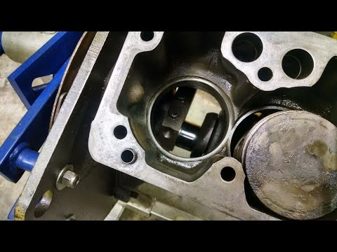 Caterpillar Peugeot Engine Rebuild Head Gasket - YouTube