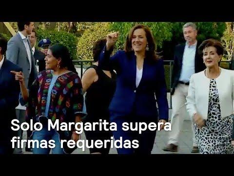 Margarita Zavala, única aspirante en alcanzar firmas requeridas - En Punto con Denise Maerker
