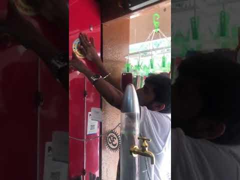 Prajaakiya publicity in Bangalore store's
