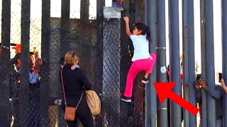 🔴 Migrants From Caravan Got Caught Crossing Border Illegally - POLICE TAKING ACTION !!
