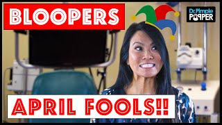 Happy April Fool's Day! Outtakes and Bloopers from the Dr. Pimple Popper Team