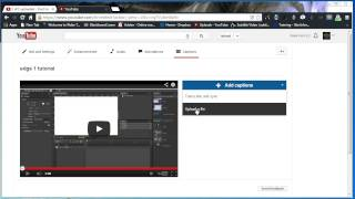 Upload MP4 Video File and .SRT Caption File to YouTube