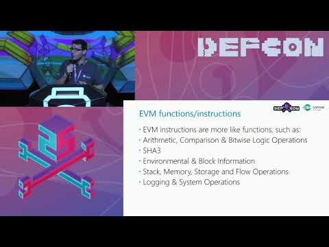 DEF CON 25 - Matt Suiche - Porosity  A Decompiler For Blockchain Based Smart Contracts Bytecode
