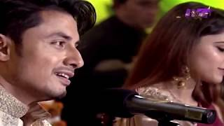 Sajna Door Teefa in Trouble Ali Zafar &amp Aima Baig Live at Virsa Heritage Revived