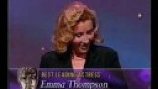 Emma Thompson's  Best Actress BAFTA for Sense & Sensibility