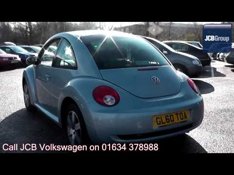 2011 Volkswagen Beetle Luna 1.4l Heavenly Blue GL60TOA for sale at JCB VW Medway