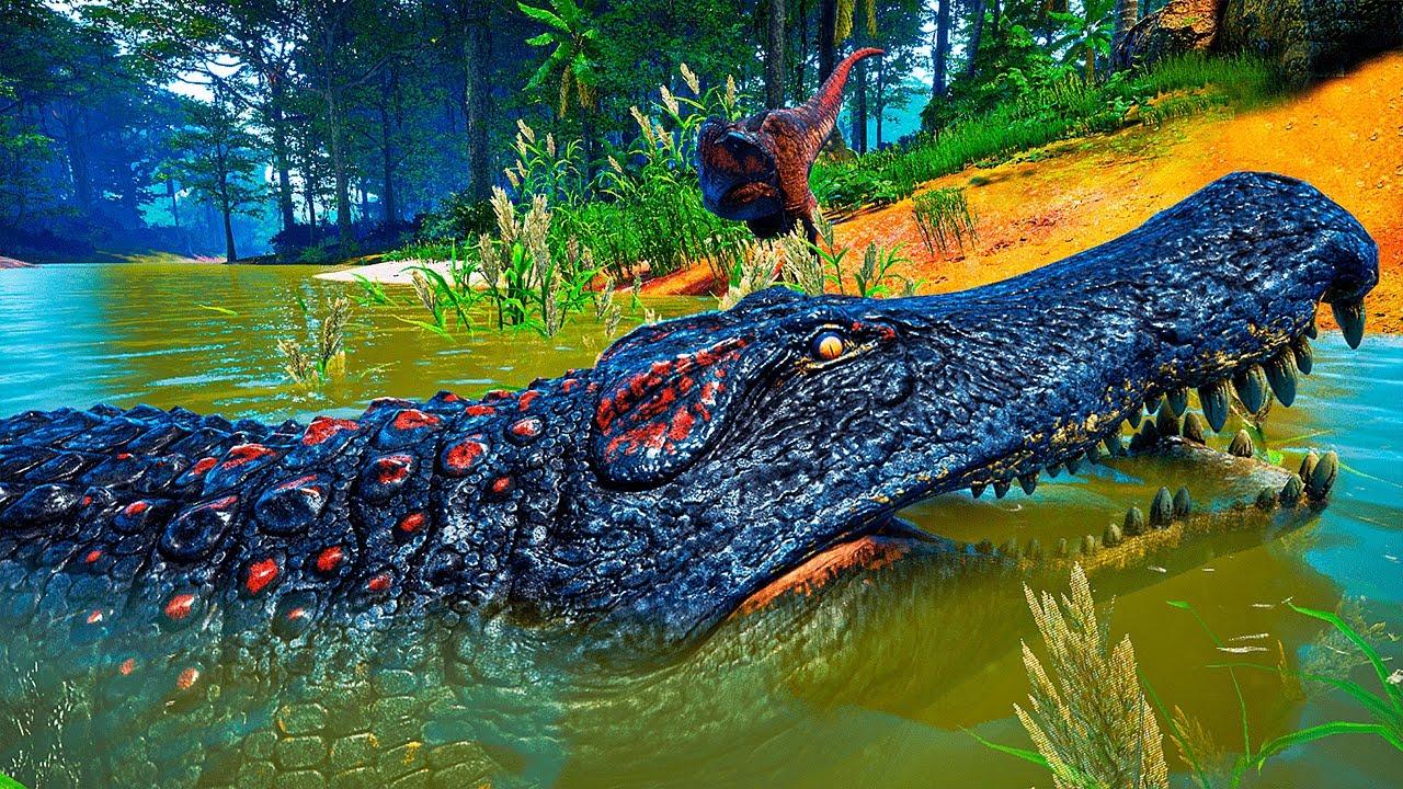 Download The Isle - Gigante Deinosuchus Faminto, Carno Tentou Devora Meu Ptera PT/BR|47