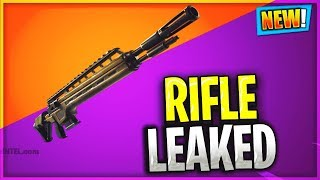 New Legendary Infantry Rifle / Battle Rifle weapon coming to Fortnite
