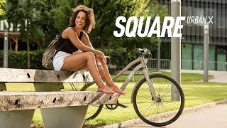 GHOST SQUARE URBAN X - an urban commuter dream