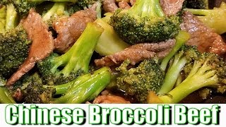 Chinese Broccoli Beef in 5 Minutes!