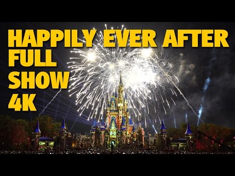 'Happily Ever After' Magic Kingdom Fireworks Full Show + Outro | Walt Disney World