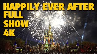 Video HAPPILY EVER AFTER Magic Kingdom Fireworks 4K Full Show + Outro | Walt Disney World download MP3, 3GP, MP4, WEBM, AVI, FLV Agustus 2018