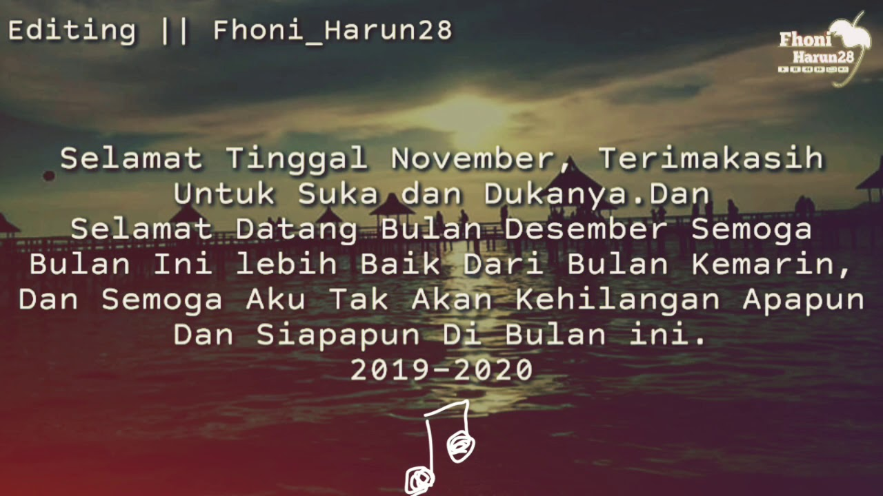 Welcome Desember 43