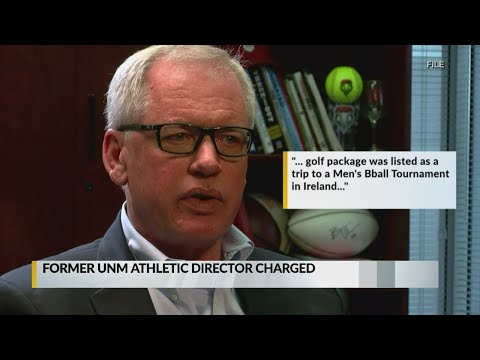 Former UNM Athletic Director Paul Krebs Charged With Fraud, Money Laundering