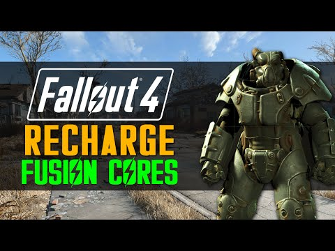 [Fallout 4] How to RECHARGE Fusion Cores!