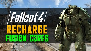 Fallout 4 How to RECHARGE Fusion Cores