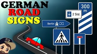 Driving In Germany | Learn German Road Signs - Autobahn Access, Limited Parking & More! | VlogDave