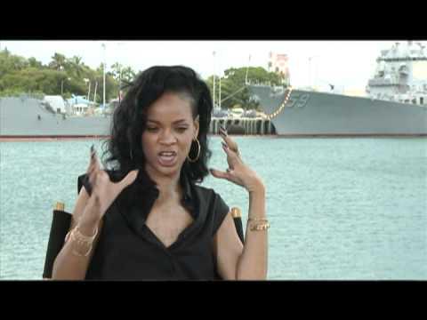 BATTLESHIP Interviews With Rihanna, Taylor Kitsch, Alexander Skarsgard And Brooklyn Decker