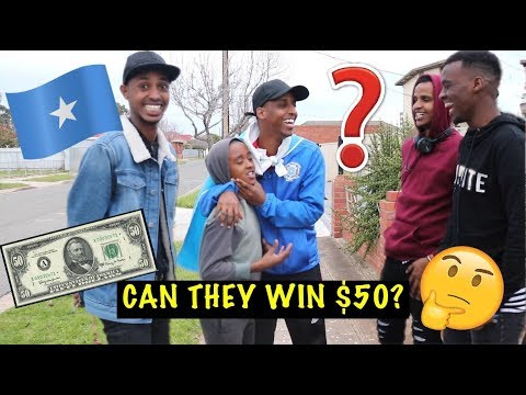 $50 IF YOU CAN ANSWER THESE SOMALI QUESTIONS: SOMALI CHALLENGE