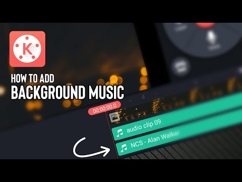 How to Add Background Music on Videos   Kinemaster Tutorial