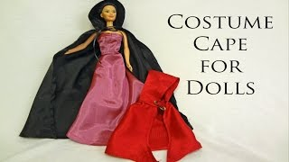 Making Hooded Cape For Doll Free Pattern
