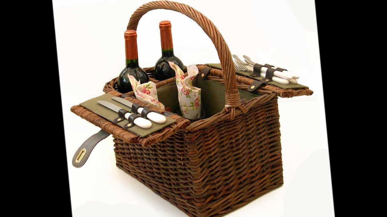 Cesta de picnic youtube - Platos para picnic ...