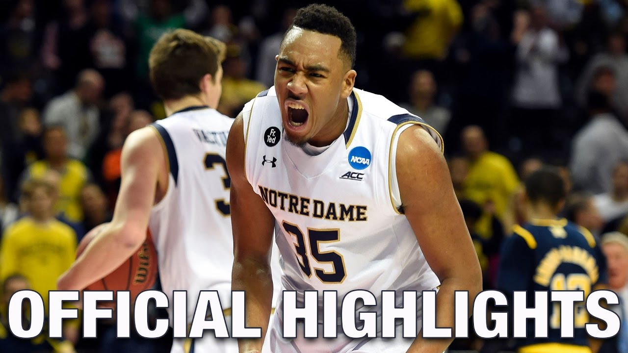 Bonzie Colson Official Highlights | Notre Dame Forward ...