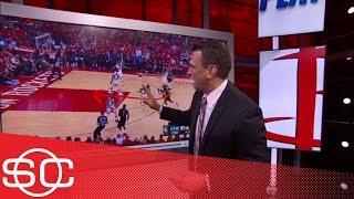 Tim Legler breaks down film of Rockets' Game 2 blowout of Warriors   SportsCenter   ESPN