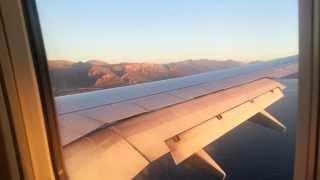 "Atterraggio aereo a Palermo "" Punta Raisi "" con ryanair"