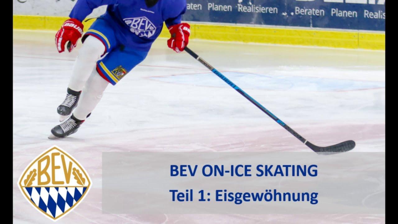 BEV ON-ICE:  Teil 1 Eisgewöhnung