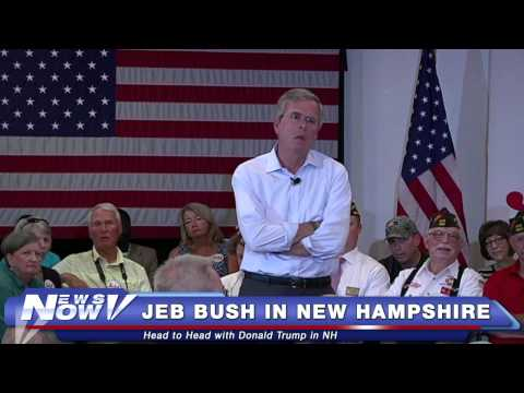 FNN: Jeb Bush Town Hall in New Hampshire