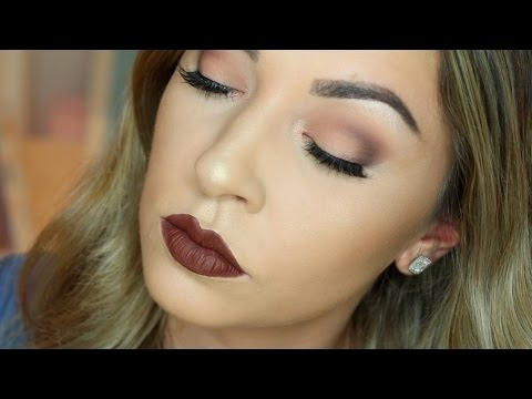 BEGINNERS HOODED EYES | Matte Cut Crease Makeup Tutorial