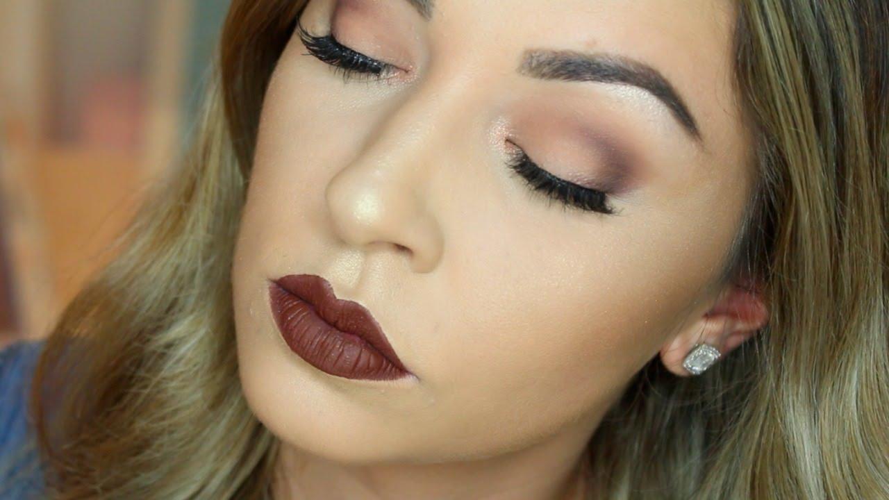 Beginners Hooded Eyes Matte Cut Crease Makeup Tutorial Youtube