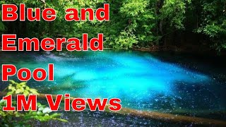 Blue and Emerald Pool Thailand| Hot Spring| Amazing place|Krabi Thailand