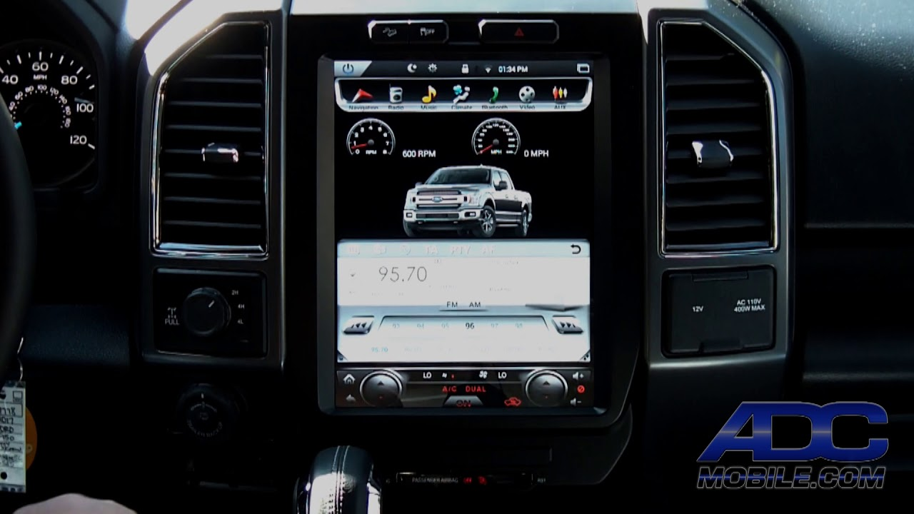 Linkswell 12 Quot T Style Radio For Ford F Series Bootup