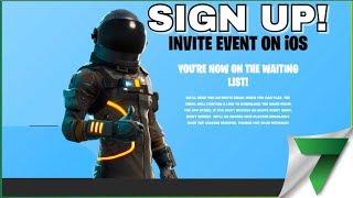 SIGN UP FORTNITE MOBILE TUTORIAL!! | FORTNITE MOBILE