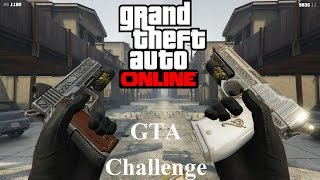 Grand Theft Auto 5 Online PS4 #82 Geting 5 Stars With Pistol .50 & Heavy Pistol (GTA Challenge)