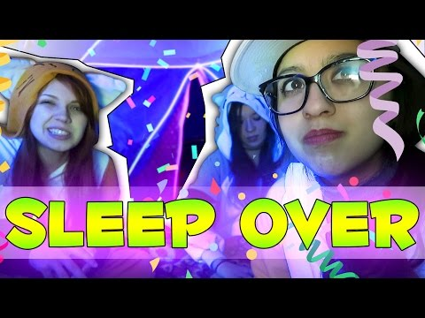 GIRLS OFFICE SLEEPOVER!
