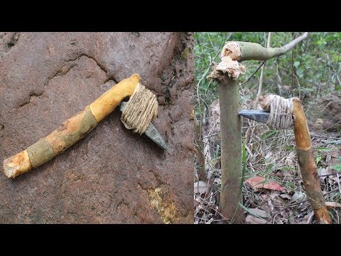 Primitive Technology: Make a Stone Adze